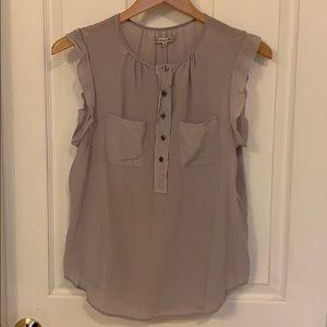 Madewell 100% Silk Shirt